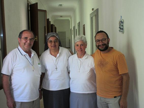 Visita alla comunità inter-congregazionale di Modica
