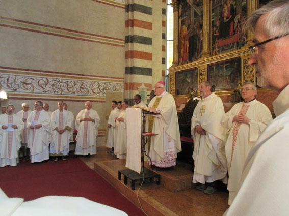 Celebrazione dei 150 anni dell'Istituto a Verona