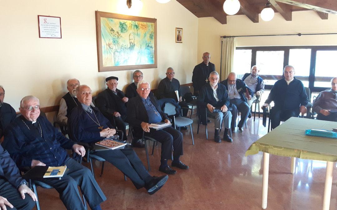 Incontro con i vescovi comboniani