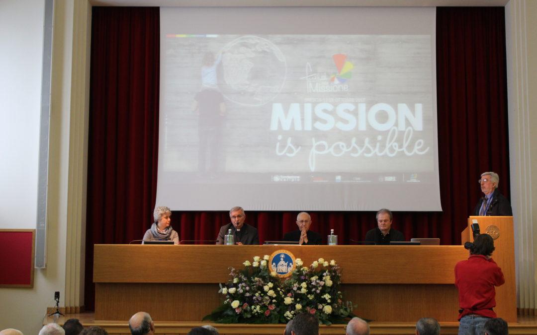 Una scossa per il mondo missionario