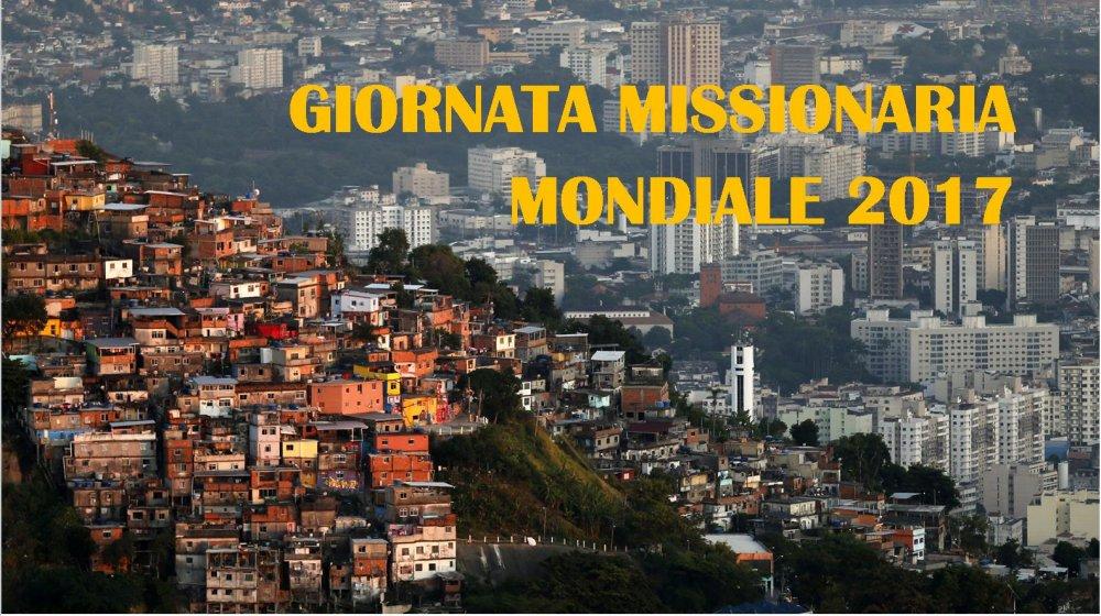 Dalla Giornata Missionaria Mondiale un impulso per tutta la chiesa