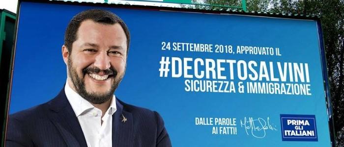 """il """"decreto Salvini"""" è da riscrivere"""