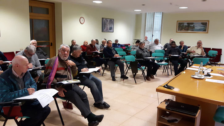 Assemblea della missione a Pesaro