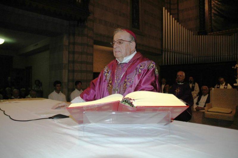 Mons. Antonio Menegazzo, vescovo comboniano, è tornato al Padre