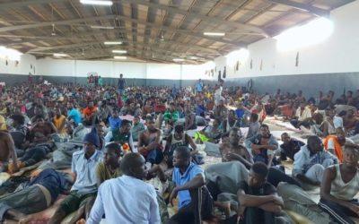 Riportati nei centri di detenzione in Libia