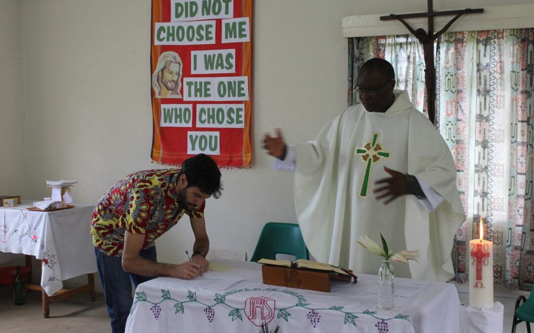 Gabriele rinnova i voti a Nairobi