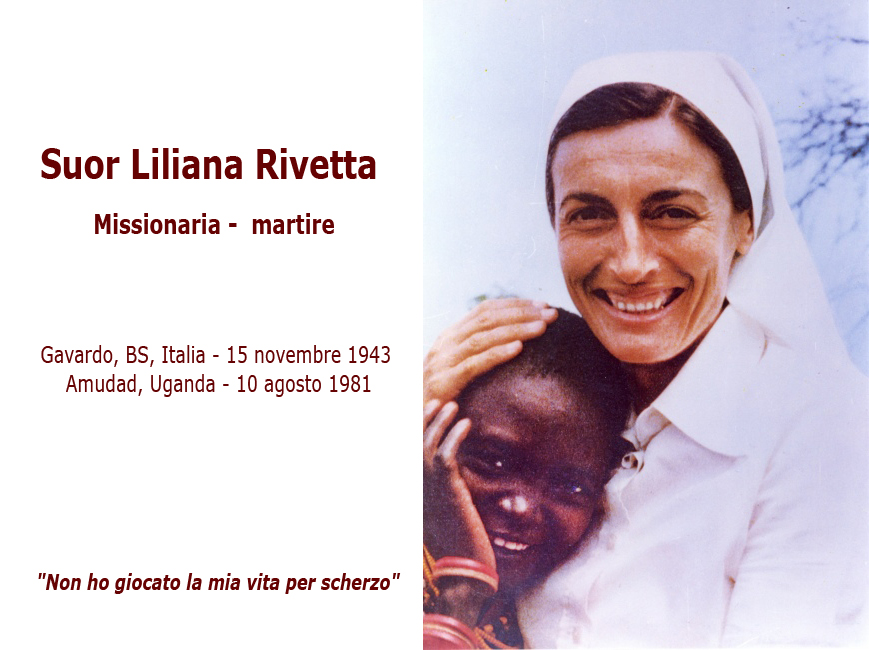 """Sr Liliana Rivetta: """"Non ho giocato la mia vita per scherzo"""""""