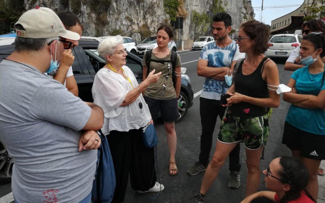 Campo GIM Ventimiglia: ARTIGIANI DI PACE